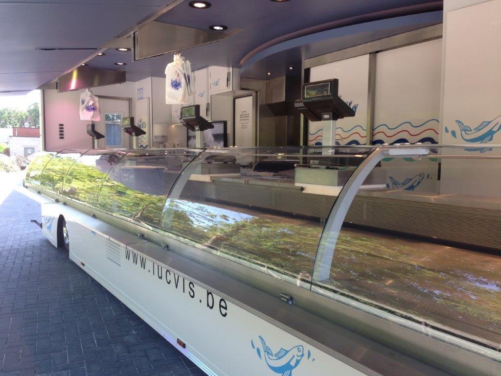 Marktwagen op maat voor Luc Vis