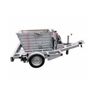 Palletaanhangwagen toepassing